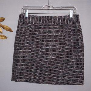 Banana Republic Black Twill Mini Skirt - Size 4